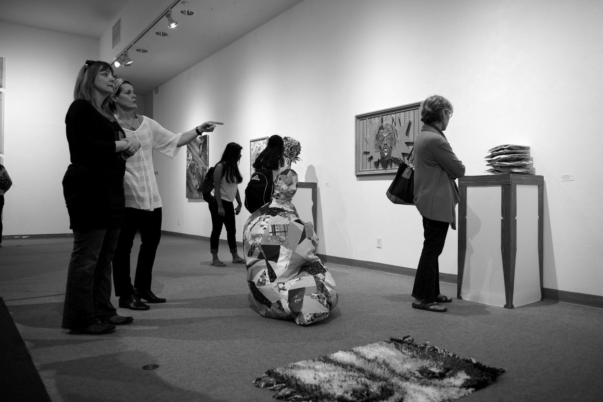 Art Exhibit in the TWU Gallery